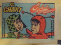 EL CHAVO CHAPULIN COLORADO 10 VINTAGE  ENVELOPES STICKERS FROM ARGENTINA