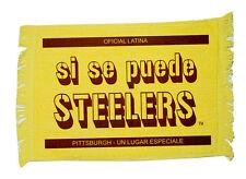 Steeler LATINA/Spanish Rally Towel  Si Se Puede STEELERS