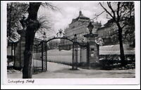 Ludwigsburg Baden-Württemberg Ansichtskarte ~1950/60 Partie am Schloß
