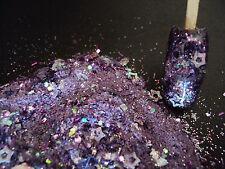 glitter mix acrylic gel nail art  YOU'RE MAJESTY