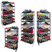Shoe Rack Football Boots Tidy Organiser Wardrobe Bedroom Storage Porch Garage