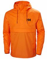 Helly Hansen Mens Loke Packable Anorak Waterproof Hood Windproof Jacket Orange M