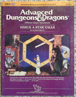 UK4 - When a Star Falls - Advanced Dungeons & Dragons - AD&D TSR