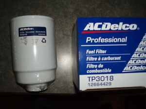 TP3018 AC DELCO DIESEL FUEL FILTER TP3012 19305685 12664429 12633243 NEW DURAMAX