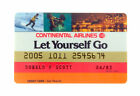 Continental Airlines Credit Card 1982 Expired Vintage FREE Sh BIG Collection