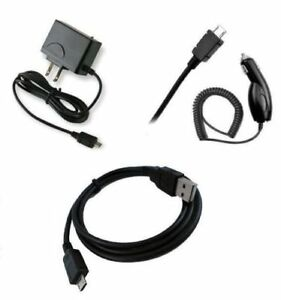 for ASUS Micro USB Devices Car+Home Charger + Data Cable Accessory Bundle Kit