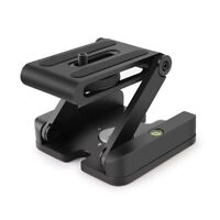 Folding Z Flex Tilt Head Camera Bracket Quick Release Plate Camera Stand Holder