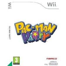 Pac-man Party Nintendo Wii MINT Collectors PAL Version