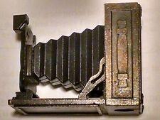 Vintage Diecast Metal Miniature Antique Camera PENCIL SHARPENER