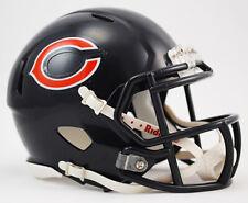 Chicago Bears Replica Speed Mini Helmet from Riddell,NFL Football Helm 1:2,NEU