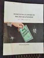 1956 S&H Green Stamps Catalog Distinguished Merchandise Diamond Jubilee Redeem