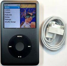 Apple iPod Classic 7th Generation Gray Grey Black 160GB New Battery Refurbished