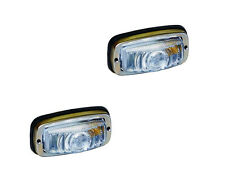 2 x MONARK FEUX DE POSITION rétro lumière style rétro TRACTEURS - POSITION LAMPE