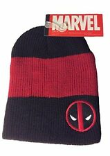 Marvel Comics DeadPool Logo Roll Slouch Beanie Cap Hat Costume Cosplay
