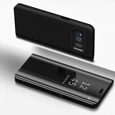Smart Mirror View Luxury Flip Case Cover For Samsung Galaxy S8 S9 Plus Note 8 9