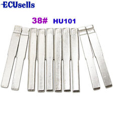 10pcs/lot, 38# Flip Blade for Remote Key HU101 NO.38 for Ford Focus Mondeo CMAX