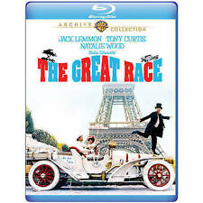 The Great Race (Blu-ray Disc, WS, 2014) Tony Curtis Jack Lemmon NEW