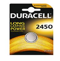 DURACELL 1 Pile bouton lithium CR2450 3 volt