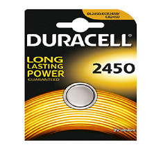 DURACELL 1 batteria a bottone litio CR2450 3 volt