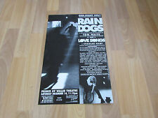 RAIN Dogs One Night Only inc Jessica Martin PRINCE of WALES Theatre Poster