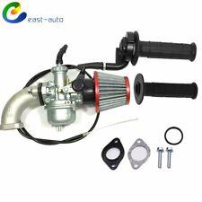 Carburetor & Intake Manifold Air Filter & Handle Grip For Honda Xr70R 1998-2003 (Fits: Honda)
