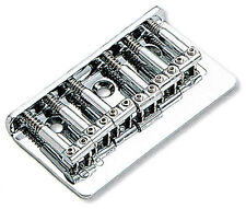 Top-Loading Hardtail Electric Guitar Bridge Chrome