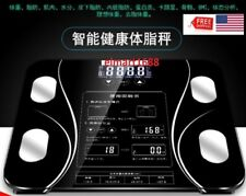 ELmart-Scale Measurement Smart Digital BMI Body Fat Weight LCD CHINESE Display