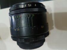 Helios 44-2 M42 2/58 58mm Objektiv sehr schöner Zustand