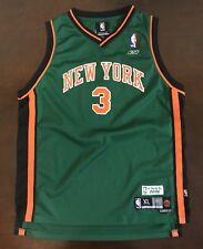Rare Vintage Adidas New York Knicks Stephon Marbury St Patricks Jersey Youth XL