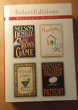 Select Editions by Reader's Digest The Lion's Game by Nelson DeMille store#4895
