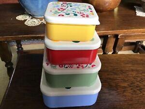 Emma Bridgewater  Snack Boxes, 4, stackable, melamine, Polka Dot