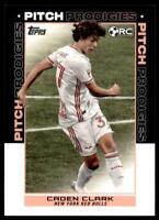 2021 MLS Base Pitch Prodigies #188 Caden Clark RC - New York Red Bulls