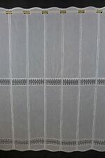 m/€ 20,95 Scheibengardine Gardine Bistrogardine 90 cm hoch weiß 5420 Macrame