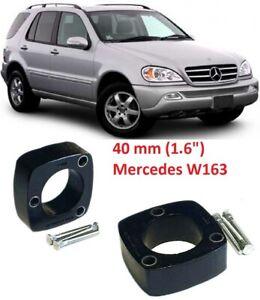 "Lift Kit for Mercedes-Benz M klasse 40mm 1.6"" W163 rear strut spacers"