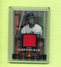 FRANK ROBINSON ORIOLES 2006 UPPER DECK EPIC EPIC MATERIALS JERSEY CARD EM-FR1 SP