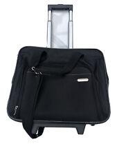 "Targus Executive Roller Bag Wheels 16"" Laptop Organizer Hand Luggage Travel"