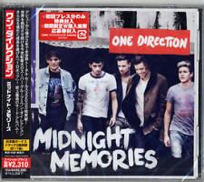 ONE DIRECTION-MIDNIGHT MEMORIES REGULAR EDITION-JAPAN CD BONUS TRACK E78