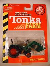 Tonka Farm 1/66 Traktor Trecker Schlepper 88 mit Schaufel grün OVP