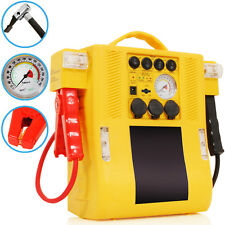 12V 900A 400A CAR POWER PACK PORTABLE JUMP START BATTERY BOOSTER AIR COMPRESSOR