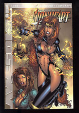 Lionheart (1999) #1 cover A Signed by Ian Churchill no COA First Print Loeb NM