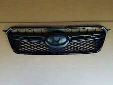 fits 2013-2015 SUBARU XV CROSSTREK Front Bumper Grille Panel Black NEW
