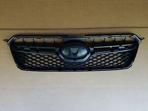 fits 2013-2015 SUBARU XV CROSSTREK Front Bumper Grille Panel Black NEW