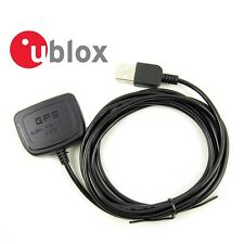 NEW U-Blox 50 Channels -160dBm Compact USB GPS Receiver For Laptop / Car PC