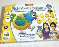 New The Learning Journey Play It! Matching Game -Pick Your Chicken Educational