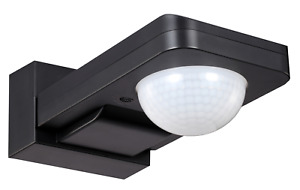IP65 External 360° PIR Ceiling/Wall Manual Override Light Control Sensor Switch