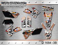 KTM EXC 125 250 450 525  2005 up to 2007 sticker kit graphics Moto-StyleMX