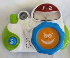 Lot of 2 Pretend Play Cell Phone Camera Bilingual Musical Happy Kid Toy Group