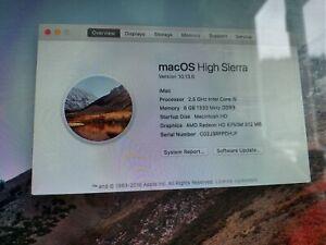 "Apple iMac 21.5-Inch ""Core i5"" 2.5 (Mid-2011) A1311 HIGH SIERRA"