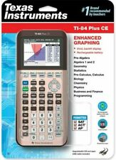 Texas Instruments Ti-84 Plus CE Graphing Calculator - Rose Gold