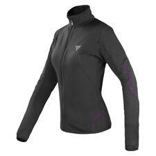 Dainese Thermal Full Zip E1 Lady Gr. XL schwarz lila Ski Snowboard Funktioshose